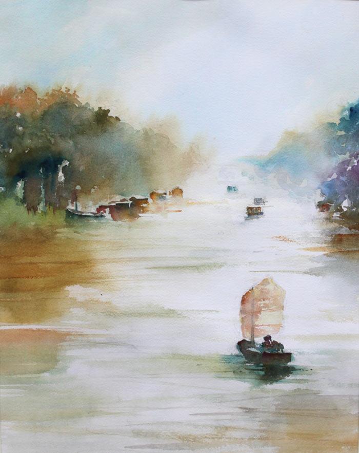 Cours Peinture En Ligne Gratuit Stages Prives En Groupe Aquarelle Facile