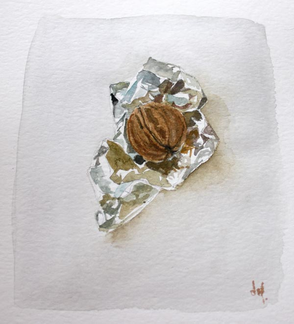 Aquarelle nature morte