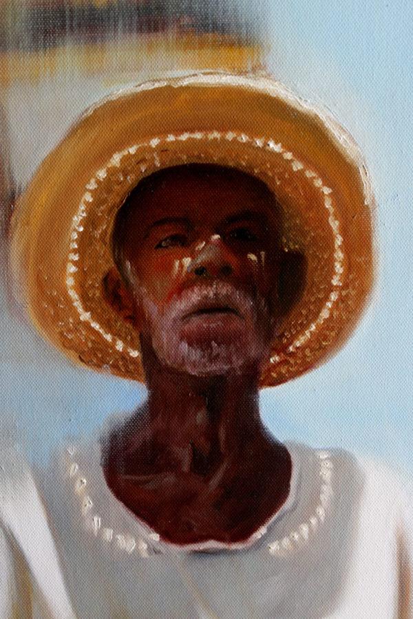 Détail du portrait mexicain
